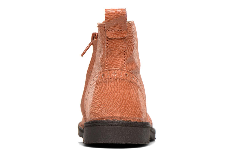 Bottines et boots Bisgaard Sagitta Orange vue droite