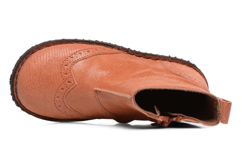 Bottines et boots Bisgaard Sagitta Orange vue gauche