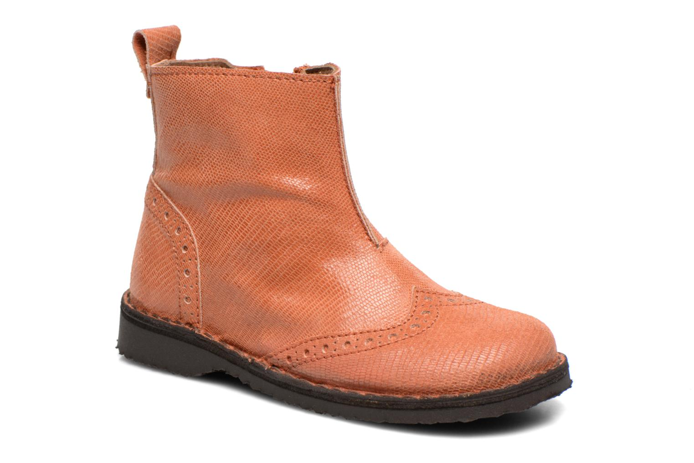 Bottines et boots Bisgaard Sagitta Orange vue détail/paire