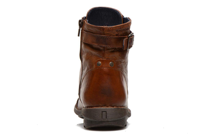 Bottines et boots Dorking Medina 6402 Marron vue droite