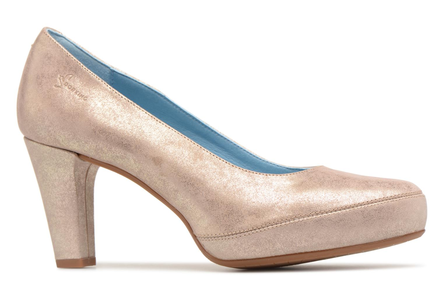 High heels Dorking Blesa 5794 Bronze and Gold back view