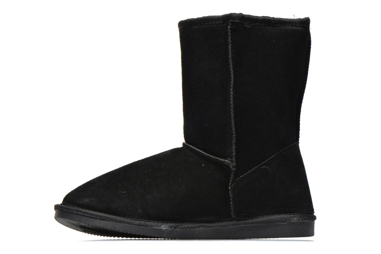 Bottines et boots Les Tropéziennes par M Belarbi Snow Noir vue face