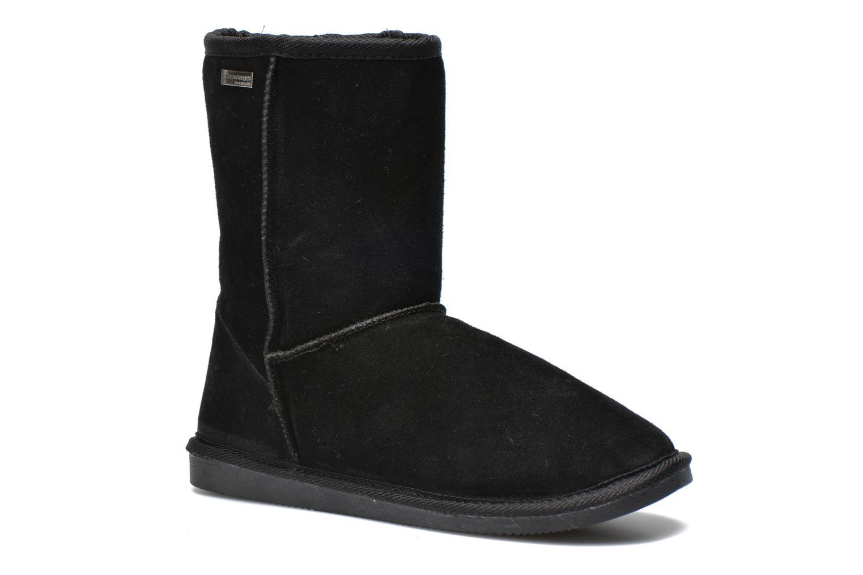 Bottines et boots Les Tropéziennes par M Belarbi Snow Noir vue détail/paire