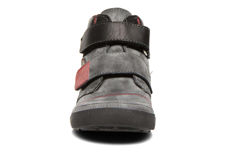 Chaussures à scratch GBB Lorencio Noir vue portées chaussures