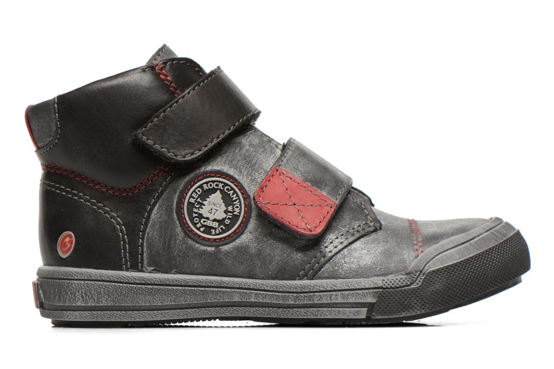 Chaussures à scratch GBB Lorencio Noir vue derrière