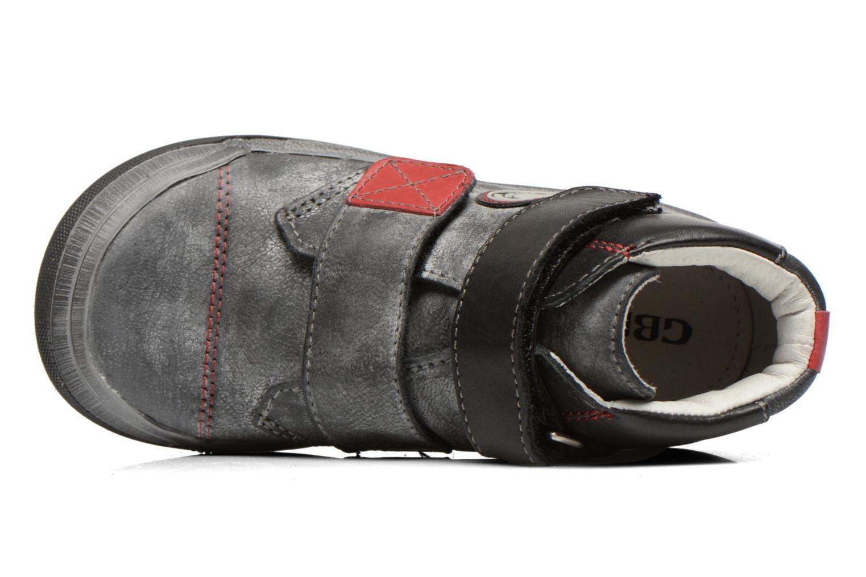 Chaussures à scratch GBB Lorencio Noir vue gauche