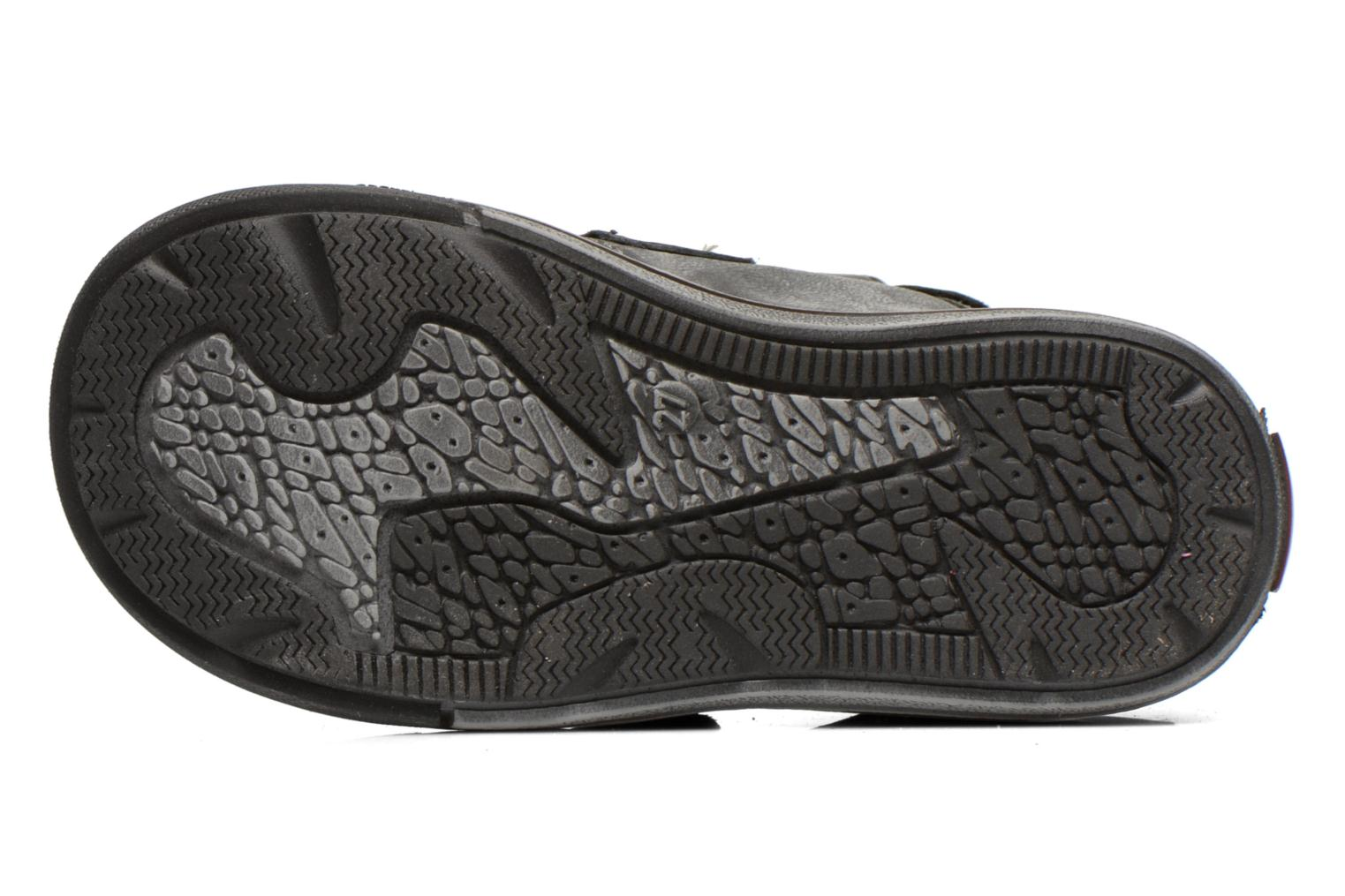 Velcro shoes GBB Lorencio Black view from above