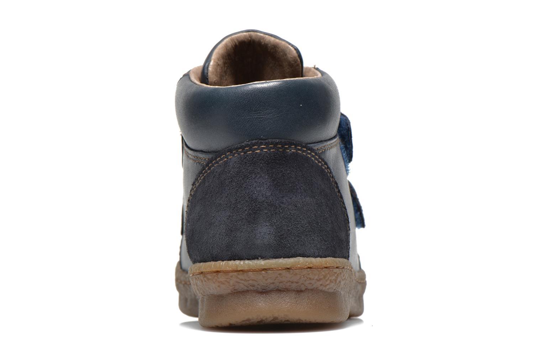 Chaussures à scratch Camper Baobab Kids Bleu vue droite