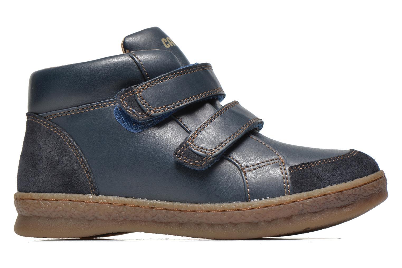 Chaussures à scratch Camper Baobab Kids Bleu vue derrière