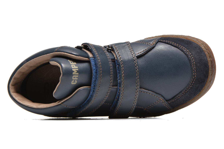 Chaussures à scratch Camper Baobab Kids Bleu vue gauche