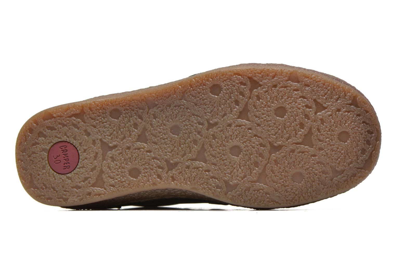 Chaussures à scratch Camper Baobab Kids Bleu vue haut