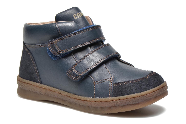 Chaussures à scratch Camper Baobab Kids Bleu vue détail/paire