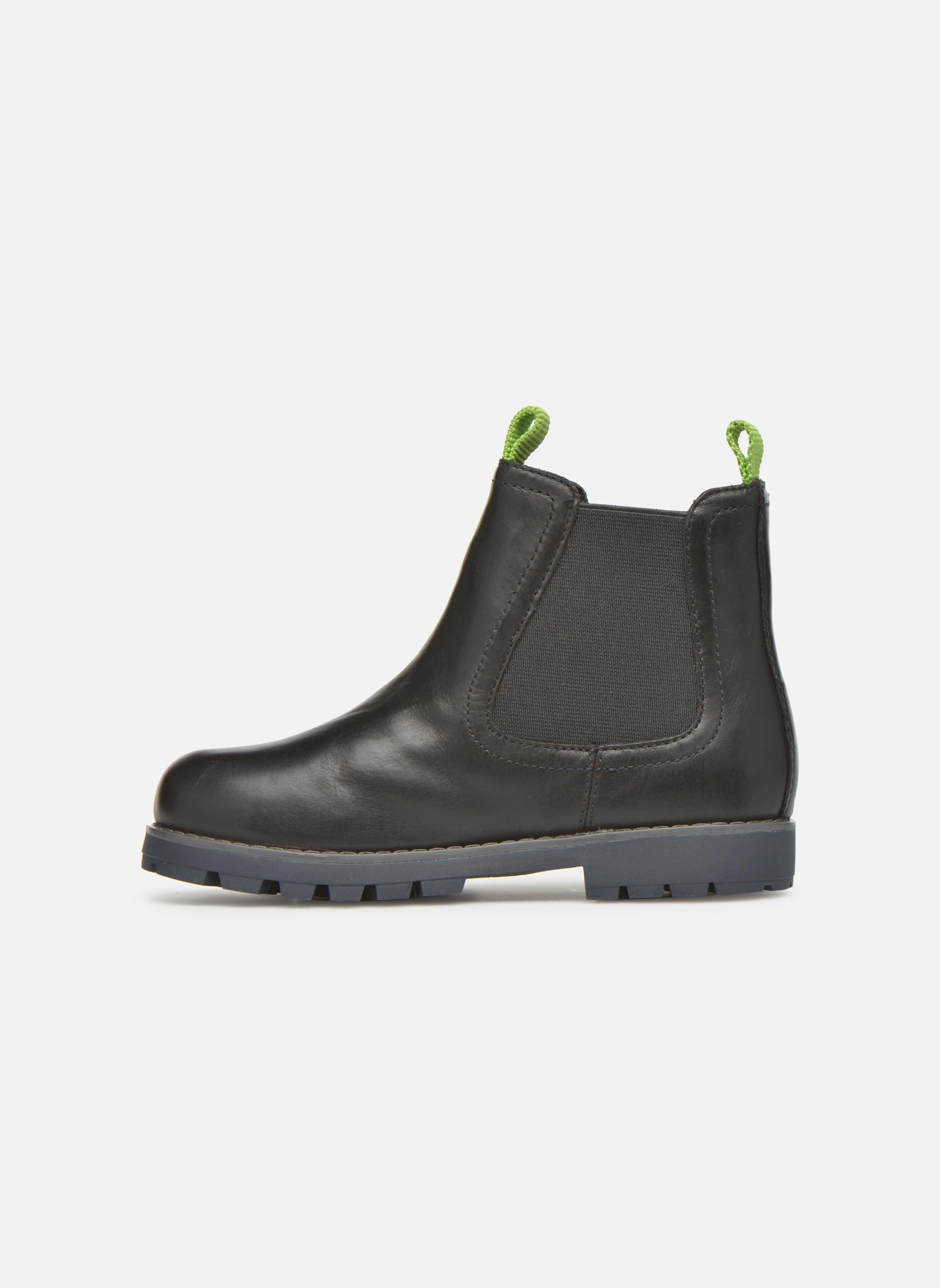 Bottines et boots Camper Compas Noir vue face
