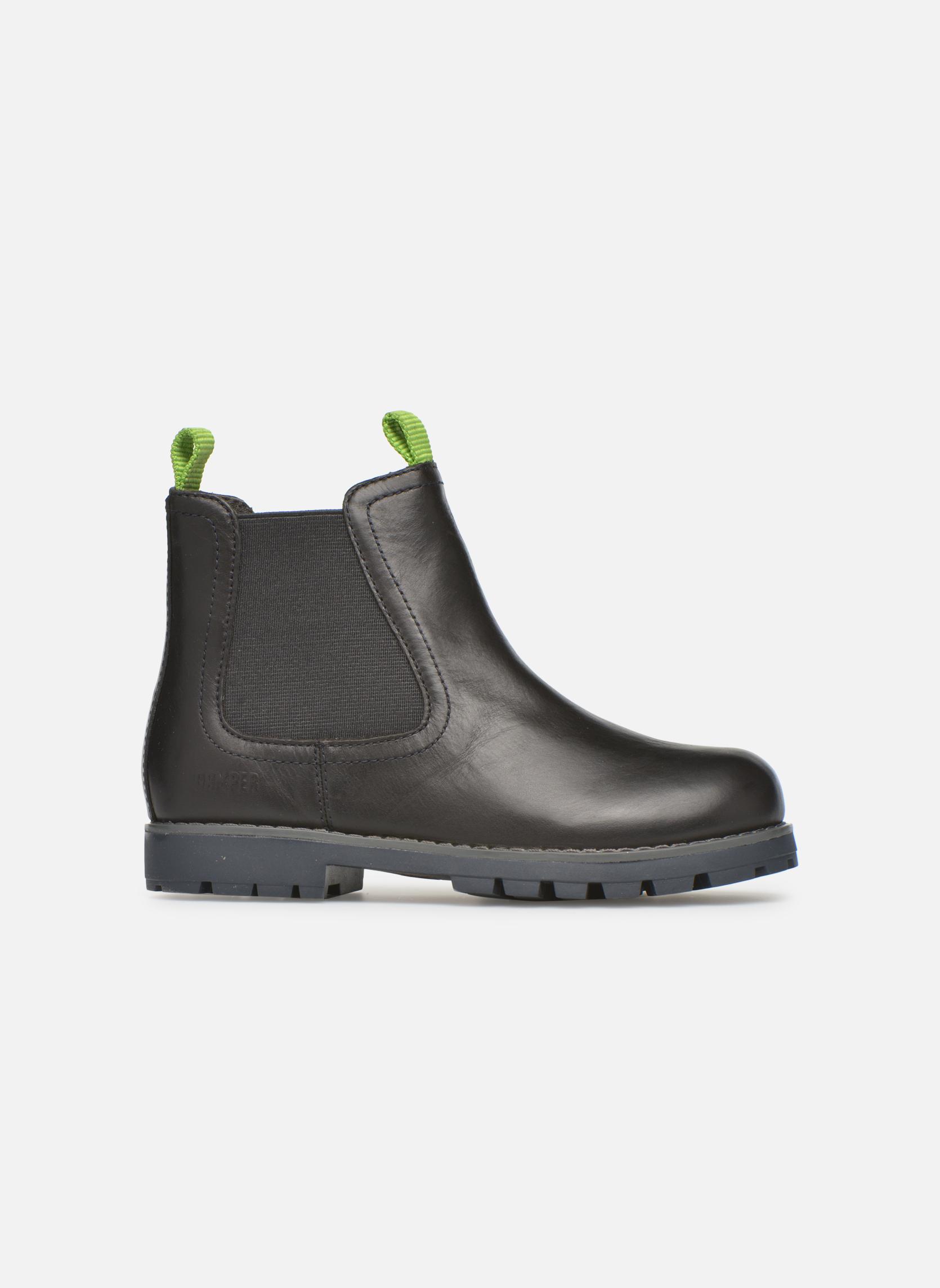 Boots en enkellaarsjes Camper Compas Zwart achterkant