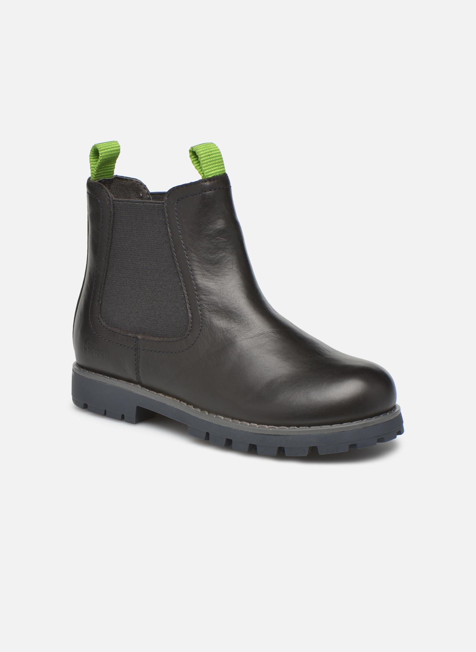 Boots en enkellaarsjes Camper Compas Zwart detail