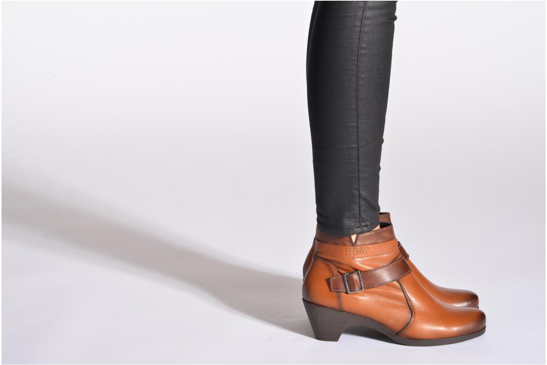 Stiefeletten & Boots Fluchos Tanya 9132 braun ansicht von unten / tasche getragen