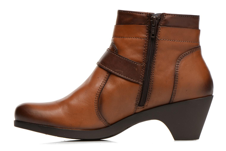 Stiefeletten & Boots Fluchos Tanya 9132 braun ansicht von vorne