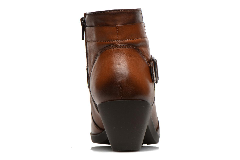 Stiefeletten & Boots Fluchos Tanya 9132 braun ansicht von rechts