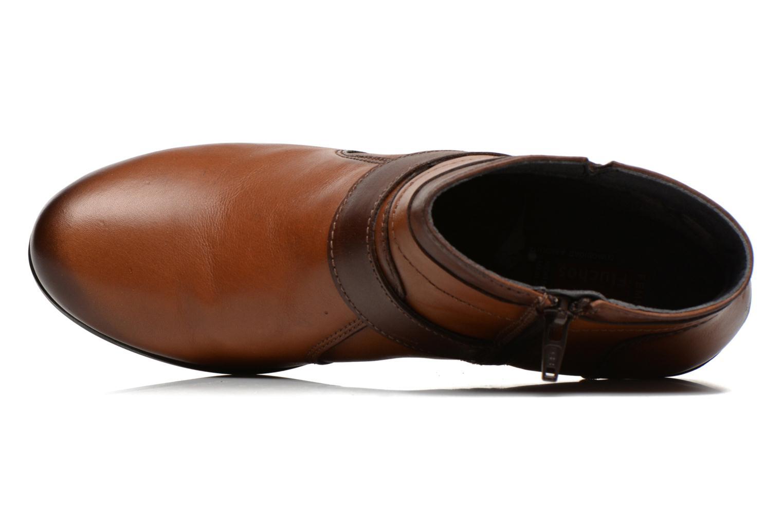 Bottines et boots Fluchos Tanya 9132 Marron vue gauche