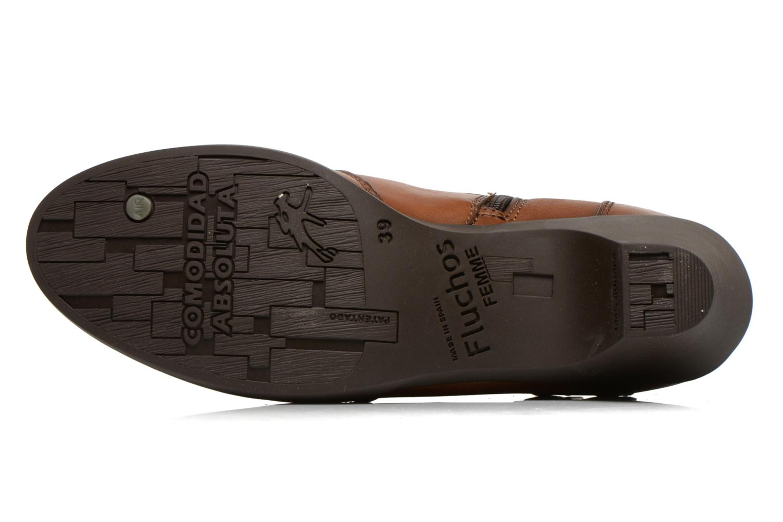 Bottines et boots Fluchos Tanya 9132 Marron vue haut