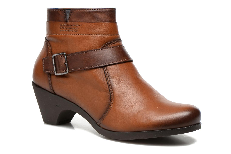 Boots en enkellaarsjes Fluchos Tanya 9132 Bruin detail