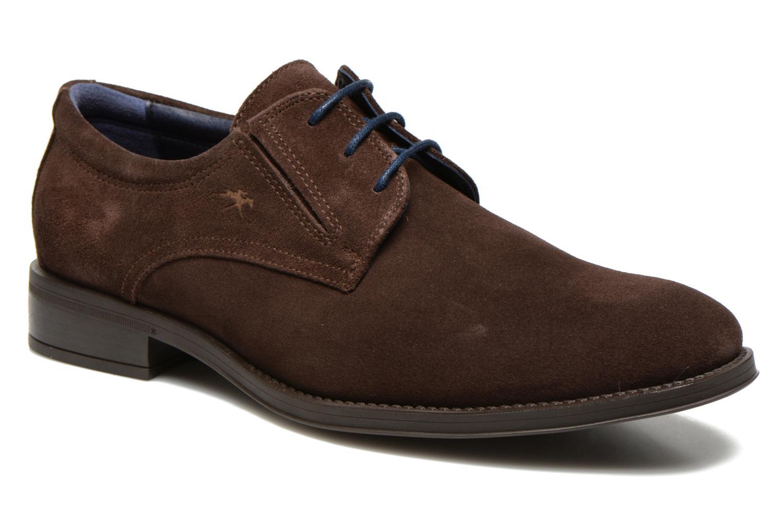 Chaussures à lacets Fluchos Heracles 8410 Marron vue détail/paire
