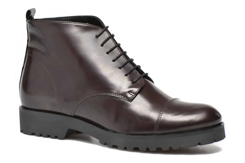Chaussures à lacets Elizabeth Stuart Sixty 298 Bordeaux vue détail/paire