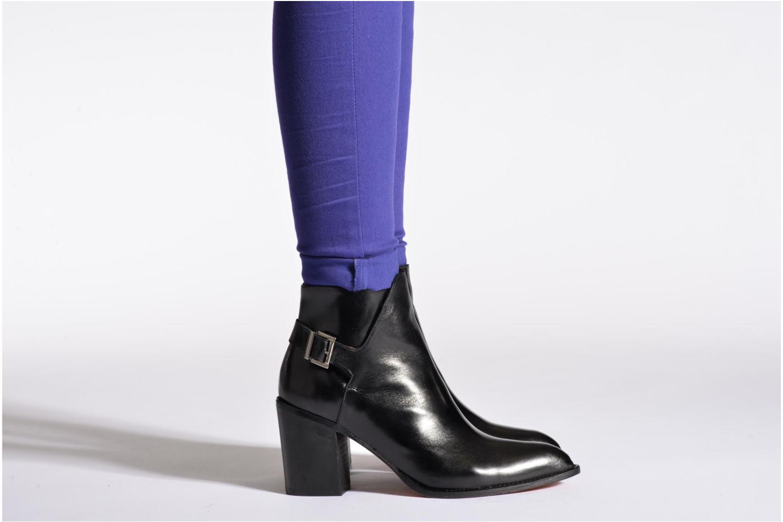 Bottines et boots Elizabeth Stuart Jade 304 Noir vue bas / vue portée sac