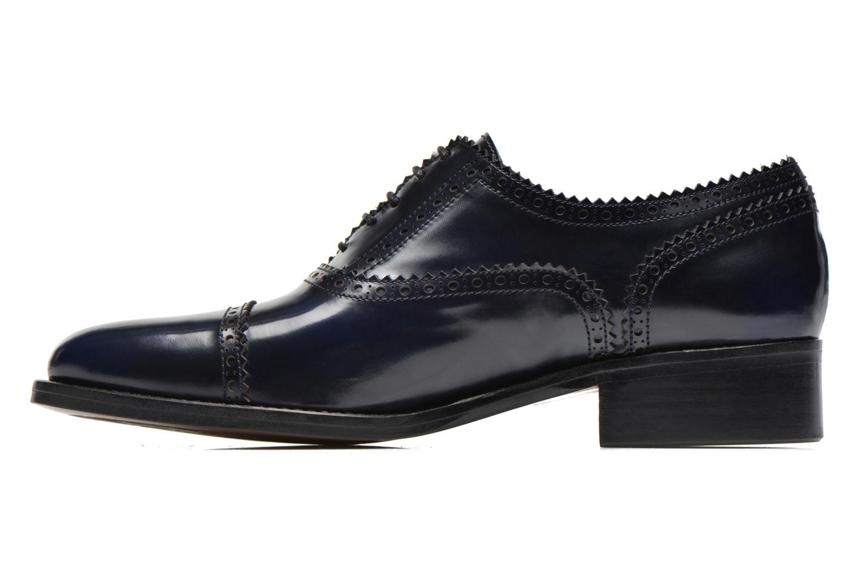 Chaussures à lacets Muratti Lapis Bleu vue face