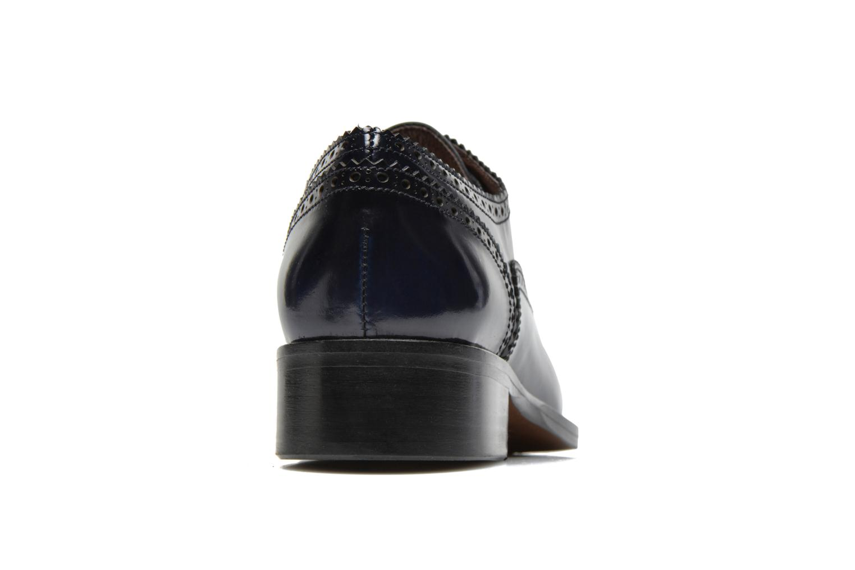Chaussures à lacets Muratti Lapis Bleu vue droite