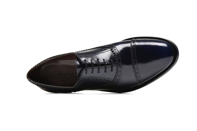Chaussures à lacets Muratti Lapis Bleu vue gauche