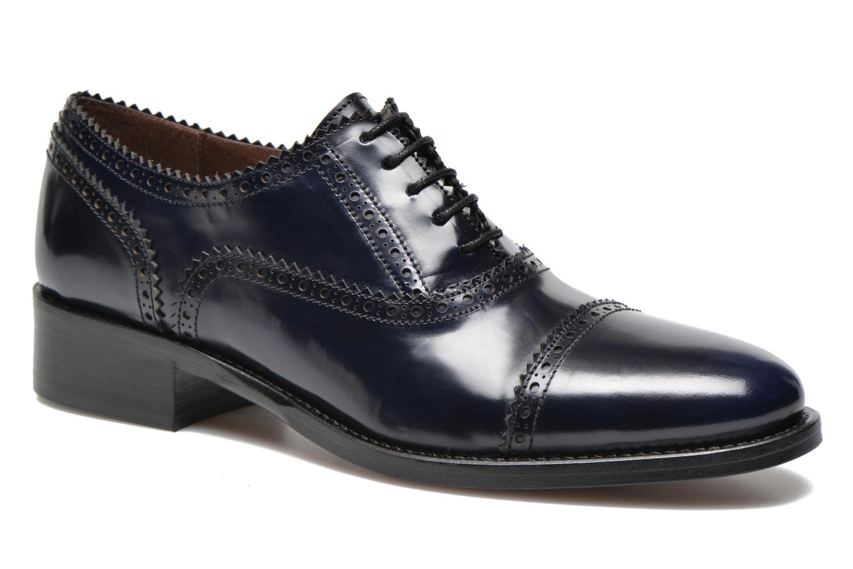 Chaussures à lacets Muratti Lapis Bleu vue détail/paire