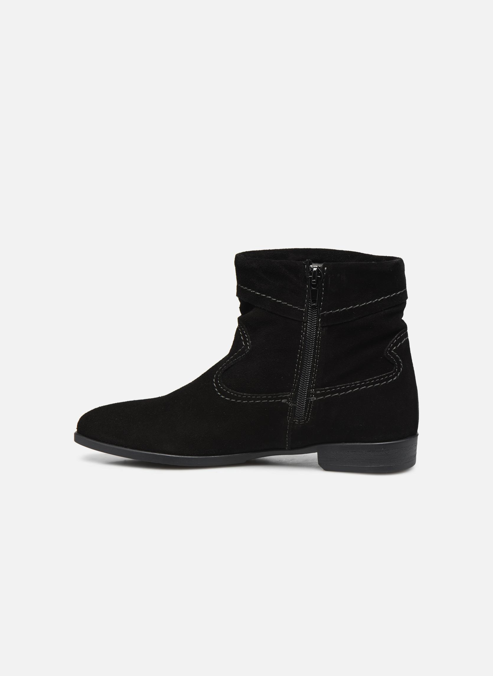 Boots en enkellaarsjes Tamaris Bluiao 2 Zwart voorkant