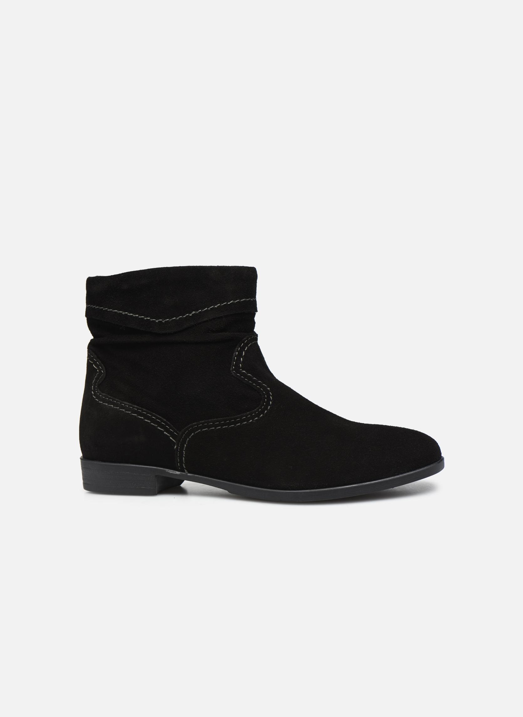 Boots en enkellaarsjes Tamaris Bluiao 2 Zwart achterkant