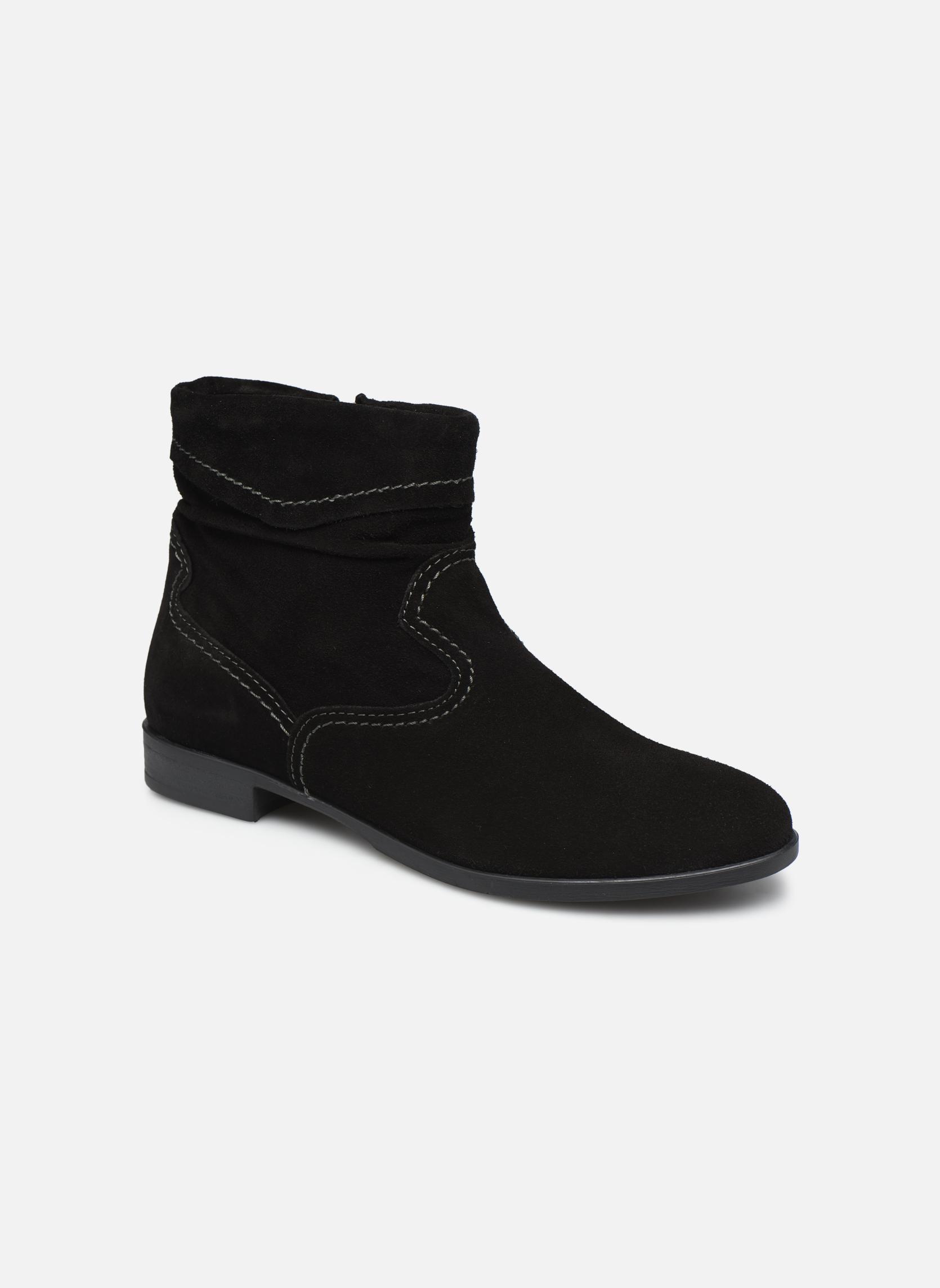 Boots en enkellaarsjes Tamaris Bluiao 2 Zwart detail
