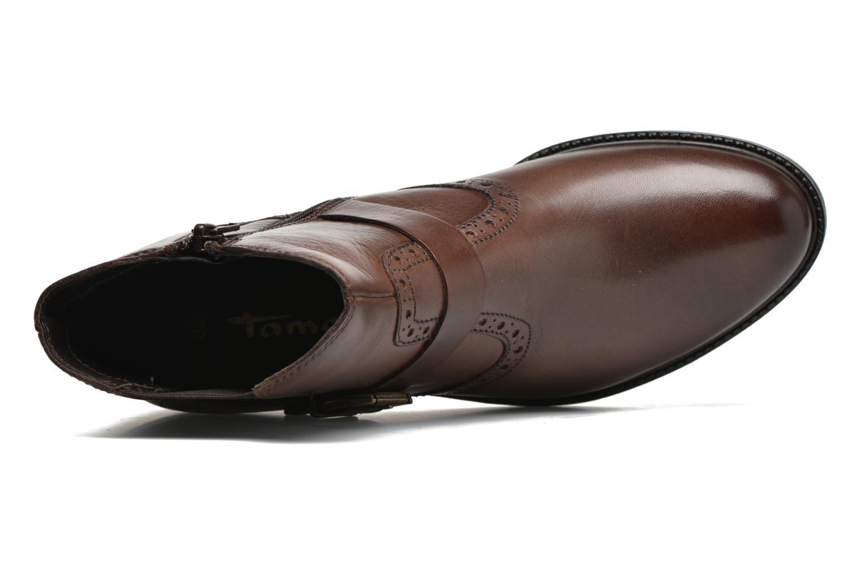 Bottines et boots Tamaris Tybety Marron vue gauche