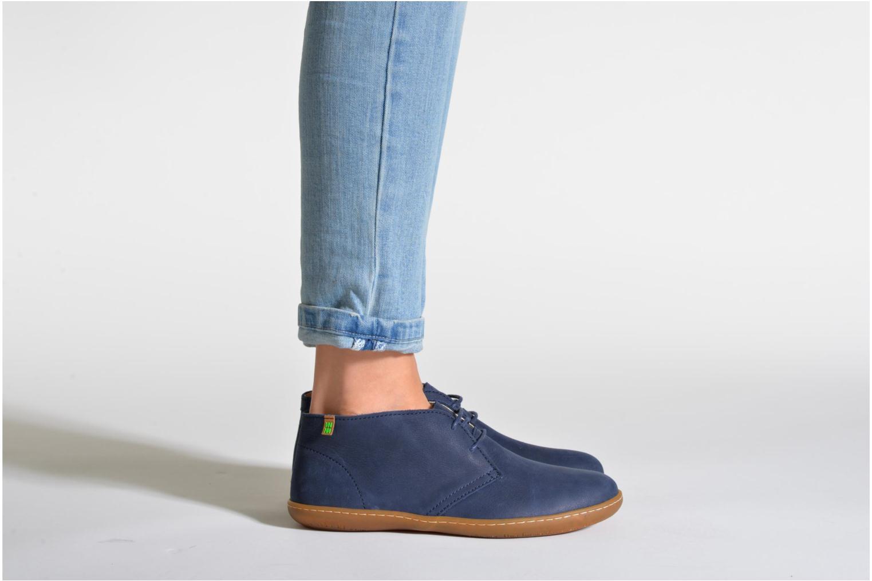 Chaussures à lacets El Naturalista Viajero NE12 W Marron vue bas / vue portée sac