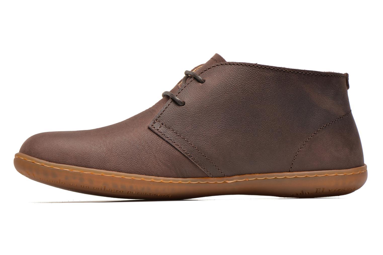 Chaussures à lacets El Naturalista Viajero NE12 W Marron vue face