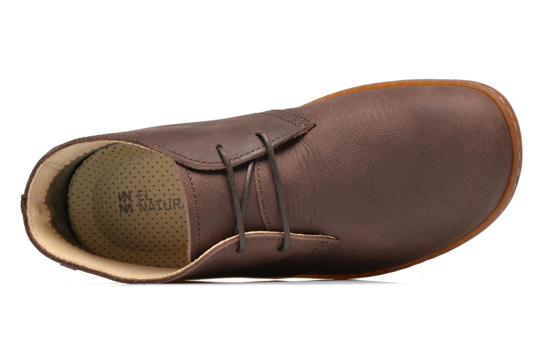 Chaussures à lacets El Naturalista Viajero NE12 W Marron vue gauche