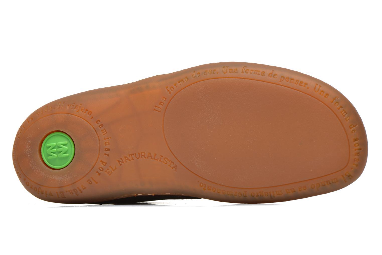 Chaussures à lacets El Naturalista Viajero NE12 W Marron vue haut