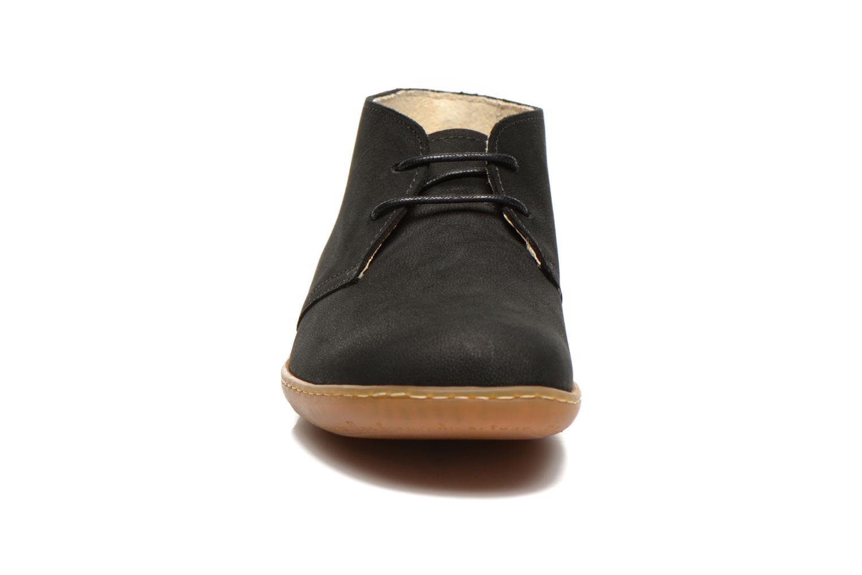 Chaussures à lacets El Naturalista Viajero NE12 W Noir vue portées chaussures