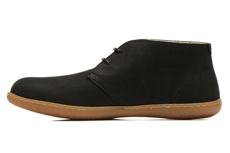 Chaussures à lacets El Naturalista Viajero NE12 W Noir vue face