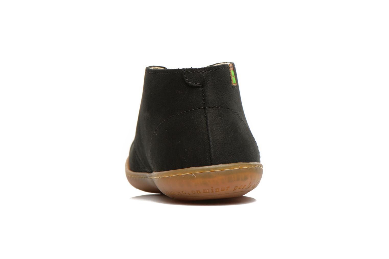 Chaussures à lacets El Naturalista Viajero NE12 W Noir vue droite