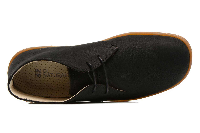 Chaussures à lacets El Naturalista Viajero NE12 W Noir vue gauche