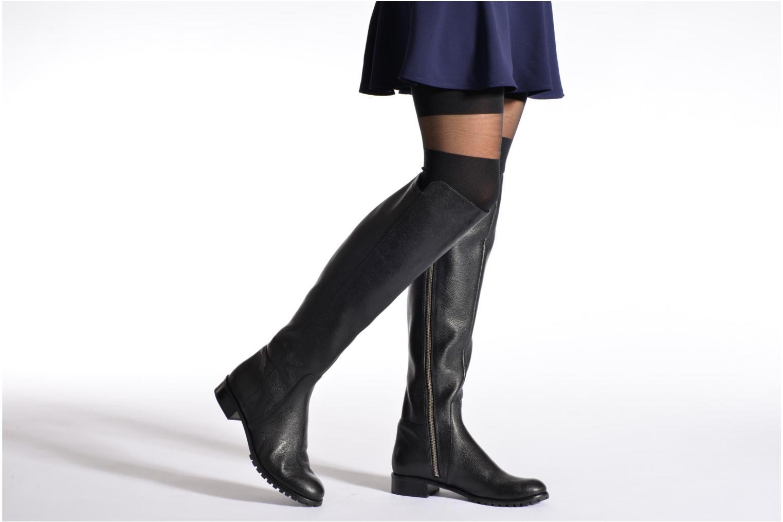 Bottes Michael Michael Kors Joanie boot Noir vue bas / vue portée sac