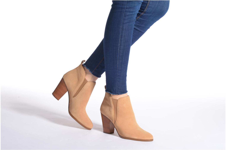 Stiefeletten & Boots Michael Michael Kors Brandy Bootie braun ansicht von unten / tasche getragen