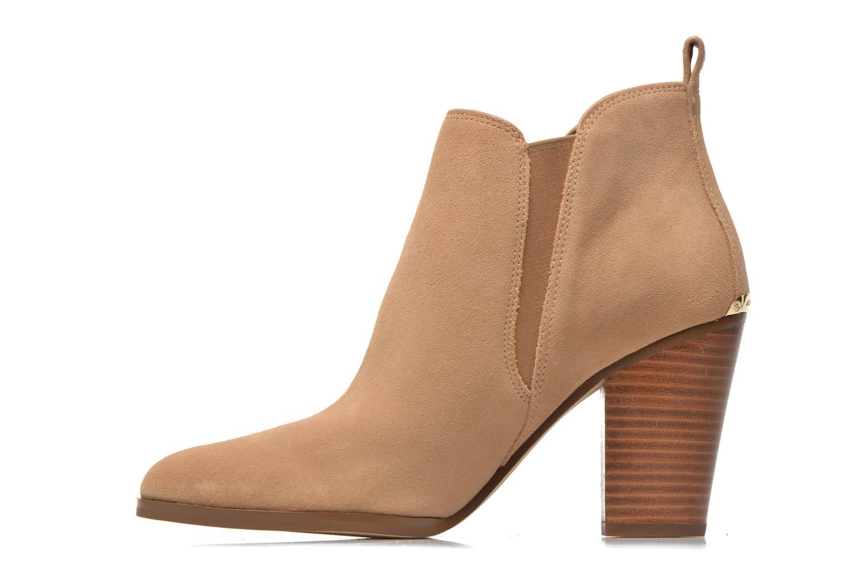 Stiefeletten & Boots Michael Michael Kors Brandy Bootie braun ansicht von vorne