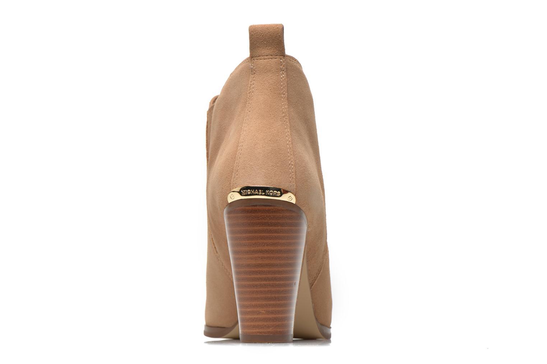 Stiefeletten & Boots Michael Michael Kors Brandy Bootie braun ansicht von rechts