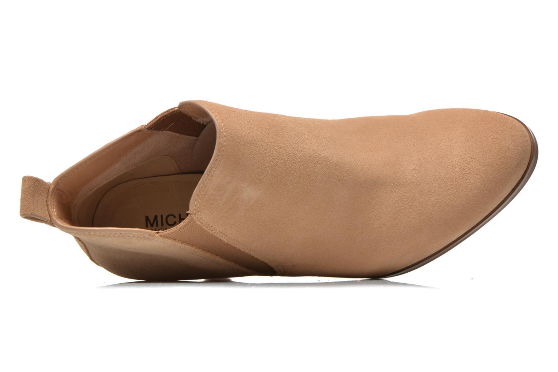 Stiefeletten & Boots Michael Michael Kors Brandy Bootie braun ansicht von links