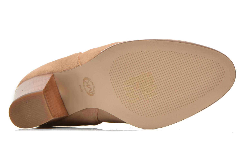 Stiefeletten & Boots Michael Michael Kors Brandy Bootie braun ansicht von oben